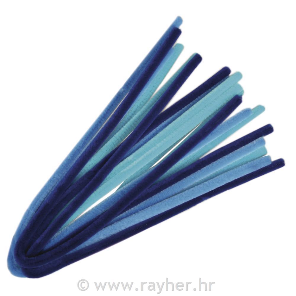 Dlakave žice plavi tonovi, 50x0.9cm, 10 - rayher.hr